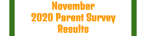 November 2020 Parent Survey Results